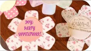 diy party invitations kasia s 1st birthday invites