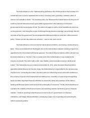 macygammage economicanalysisessay economics analysis essay  4 pages the federal reserve economics analysis essay