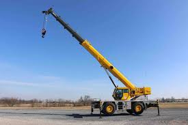 Grove Grt8100 Load Chart Grove Grt8100 And Grt655l Rough Terrain Cranes