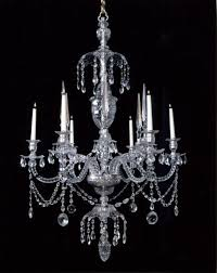 george iii cut glass chandelier