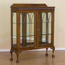charming small curio cabinet with glass doors interior extraordinary small curio cabinets with glass doors for