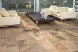 living room diffe types of tiles for house colorful persian area rugs brown leather sofa