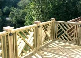 Wood Deck Railing Designs Aspiration And Ideas Glass Aluminum