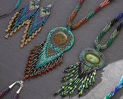 jewelry in the indian market at the santa fe old town square