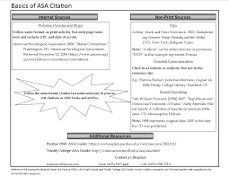 Handout Basics Of Asa Citation Keene Info Lit Bank