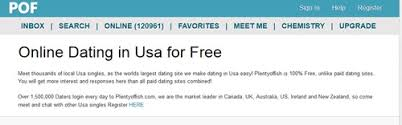 Dating site in united states of america