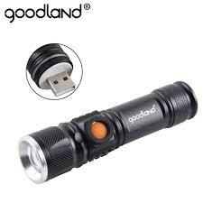 <b>Tactical Flashlight</b> Zoomable Pocket Flashlights Outdoor Aluminum ...