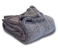 fleecepro frosted sherpa blankets