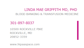 1649564857 NPI Number | LINDA MAE GRIFFITH MD, PHD | ROCKVILLE, MD | NPI  Registry | Medical Coding Library | www.HIPAASpace.com © 2020