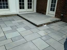 large patio stones blue stone patio tiles slate for outdoor with ideas 0 laying large patio stones