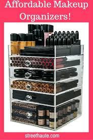 acrylic makeup organizer acrylic makeup organizers affordable beauty acrylic makeup organizer drawers