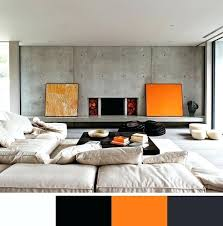 interior design color scheme modern interior colors decorating color trends orange color schemes gray color and interior design color scheme