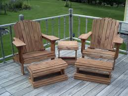 adirondack chair plans. Adirondack Chair \u0026 Ottoman Woodworking Plans