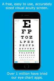 Eye Chart Hd Screen Vision With Pocket Snellen Sloan