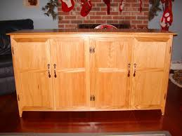 Kitchen Sideboard Custom Made Red Oak Kitchen Sideboard By Duczynski Woodworking