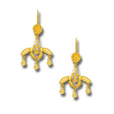 minoan cretan malia bees 18k solid yellow gold earrings