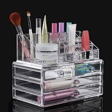 transpa acrylic makeup organizer jewelry storage box cosmetics display shelf china mainland beginners philippines