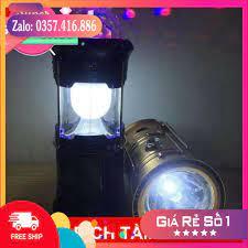 Giá xưởng] Đèn rút tích điện, đèn bão 4 trong 1 (đèn chiếu sáng, đèn pin,  đèn sân khấu, sạc dự phòng)