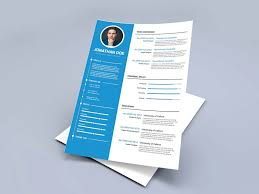 create a modern resume template with word modern free resume template in multi formats resumekraft