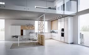 White Interior design  Modern Loft