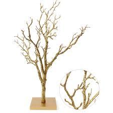 Gold Glitter Twig Tree 76 Cm   Hobbycraft