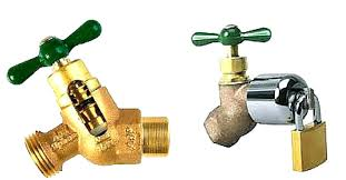 faucets extend outdoor faucet decorative post best way to fabulous hose reel solution for yard