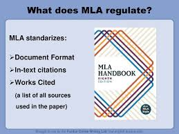 What Does Mla Regulate Mla Standarizes Document Format Ppt Download