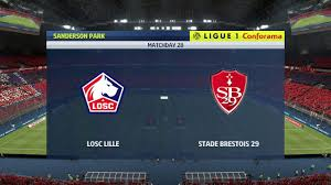 LILLE VS BREST   FRANCE LIGUE 1 FULL MATCH, GOALS, HIGHLIGHTS AND RESULTS -  YouTube