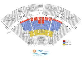 Pnc Pavilion Cincinnati Seating Chart Vip Seating