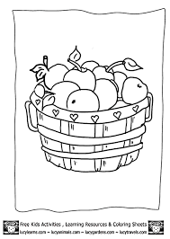 Nutrition Coloring Pages For Kids#391873