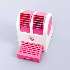 ⭐Quạt Điều Hòa Mini 2 Cửa dodiengiare 3 Chức Năng (Mát Lạnh Thơm) - Quạt  hơi nước mini có khay chứa đá 2 cửa để bàn quạt điều hòa mini để bàn: