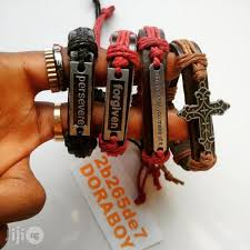 authentic inspirational leather bracelets