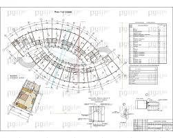 Скачать бесплатно дипломный проект ПГС Диплом № Гостиница в  3 План 1 го этажа фрагмент номера экспликация jpg