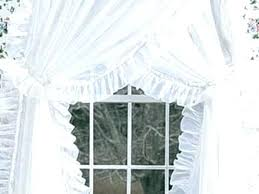 Living Room Curtain Design New Priscilla Curtains For Living Room Stylish Decoration Ruffled