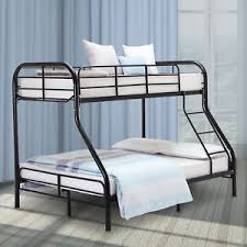 metal bunk bed twin over full. Image Is Loading Metal-Bunk-Beds-Frame-Twin-Over-Full-Size- Metal Bunk Bed Twin Over Full
