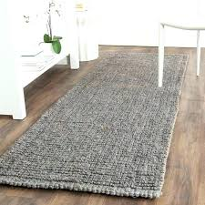 gray jute rug light grey casual natural fiber hand woven chunky thick 2 in dining room gray jute rug