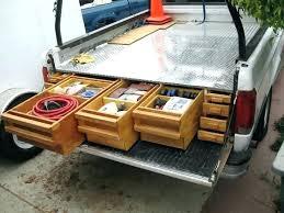 Truck Bed Storage Ideas Truck Bed Storage Truck Bed Drawer Pickup ...