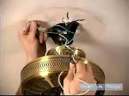 how to install ceiling fans how to hang the fan attach the wiring you