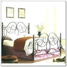 King Size Metal Headboard Wrought Iron Bed Frame – goodbay.co