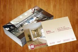 Best Idea And Modern Garden Idea Home Renovation Business Cards