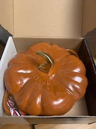 staub cast iron pumpkin. Wonderful Iron Staub Cast Iron 35qt Pumpkin Cocotte Dutch Oven COLOR CINN In M
