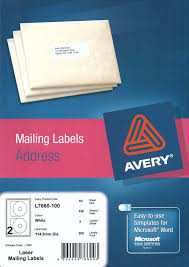 Avery Cd Labels Avery White Cd Vcd Dvd Label L7660 100
