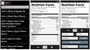 Nutrition Charts For Restaurants Calorie Manager A Simple Fitbit Companion App For Tracking