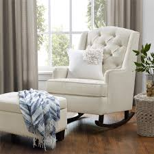 baby relax zoe tufted rocking chair image