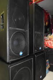 sound system. untuk memudahkan pelanggan kini kami juga melayani sewa sound system