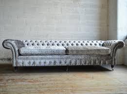 velvet chesterfield sofa.  Velvet Chesterfield Sofa  Velvet 4seater 5person  GRANDE HARLOW For Velvet Sofa E