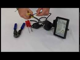 how to wire a floodlight youtube Wiring Diagram For Outside Light Sensor Wiring Diagram For Outside Light Sensor #20 wiring diagram for outdoor sensor light
