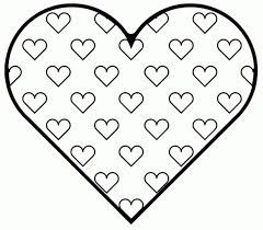 coloring pages of valentines day. Plain Coloring Great Valentine Hearts To Color Heart Coloring Pages Valentines Day   MsK5c Intended Of E