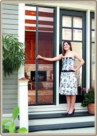phantom retractable screen door. Phantom Retractable Screen Door Thecharleygirl Com Throughout Doors Remodel 6