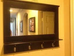 Coat Rack With Mirror And Shelf Coat Racks marvellous mirror and coat rack Mirrored Coat Hanger 5